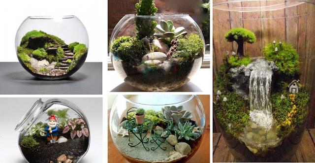 22 amazing miniature terrarium ideas for try now - Miniature terrarium decorations ...