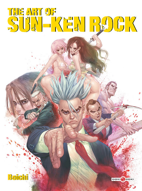 Sun-Ken Rock, Boichi, Manga, Actu Manga, Doki Doki, The Art of Sun-Ken Rock, Japan Expo 2015,