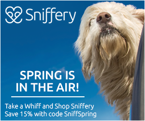 Save 15% at Sniffery with code SniffSpring