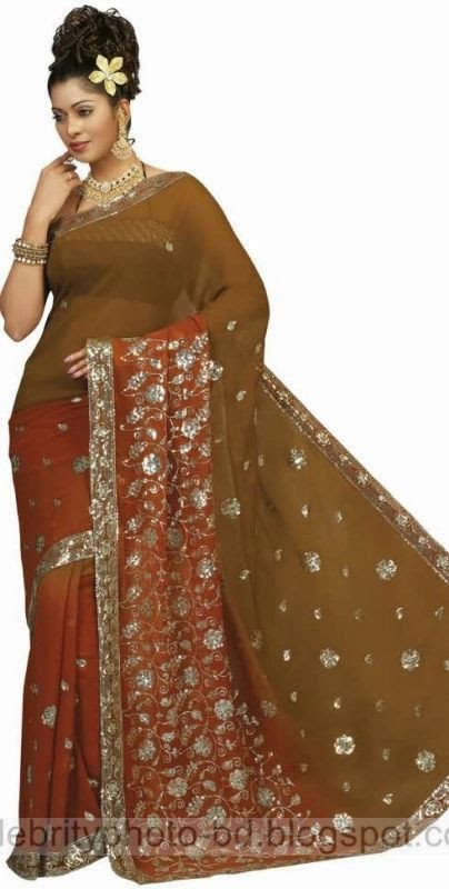 Girls%2BStylish%2BSaree%2BCollection%2BFor%2BEid%2BFestival%2B2014 2015003
