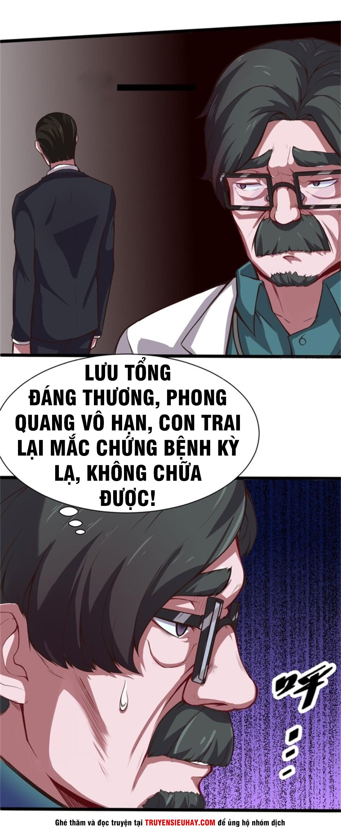 Đô Thị Âm Dương Tiên Y chap 2 - Trang 3