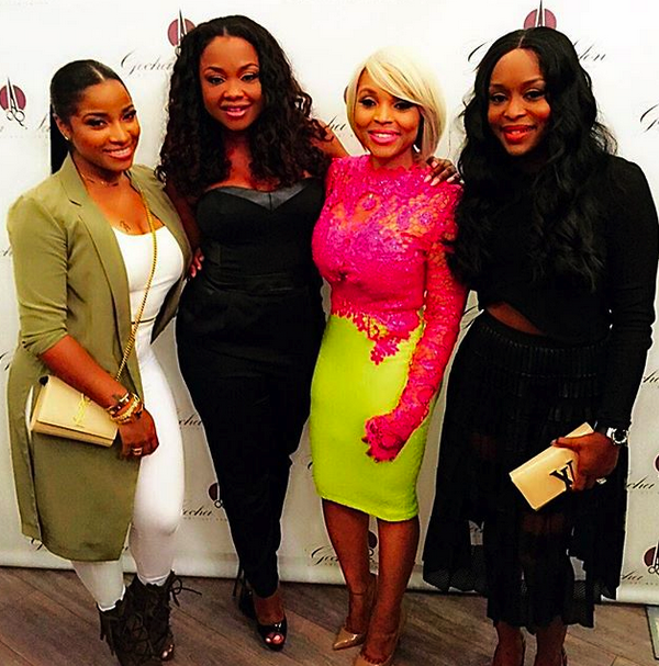 Atlanta Housewives Phaedra Parks Birthday