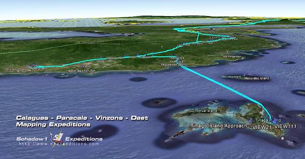 Calaguas Island Camarines Norte Map