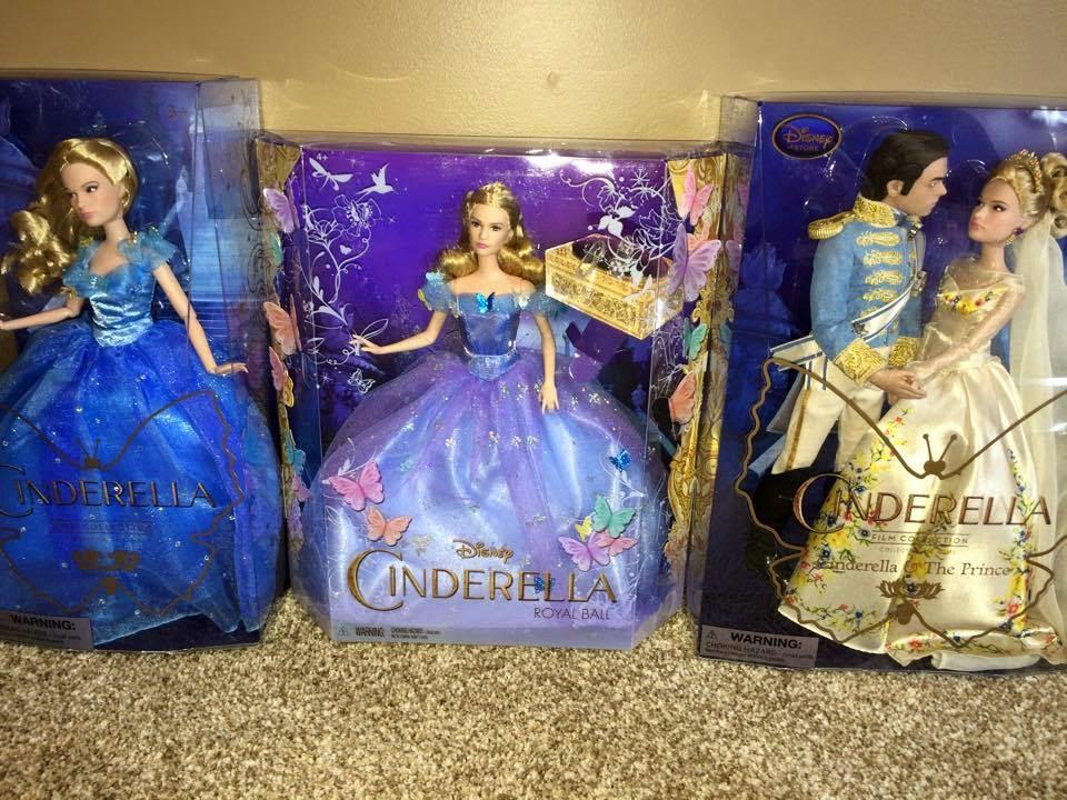 Novedades Disney: Comparativa de muñecas de Cenicienta (Live Action ...