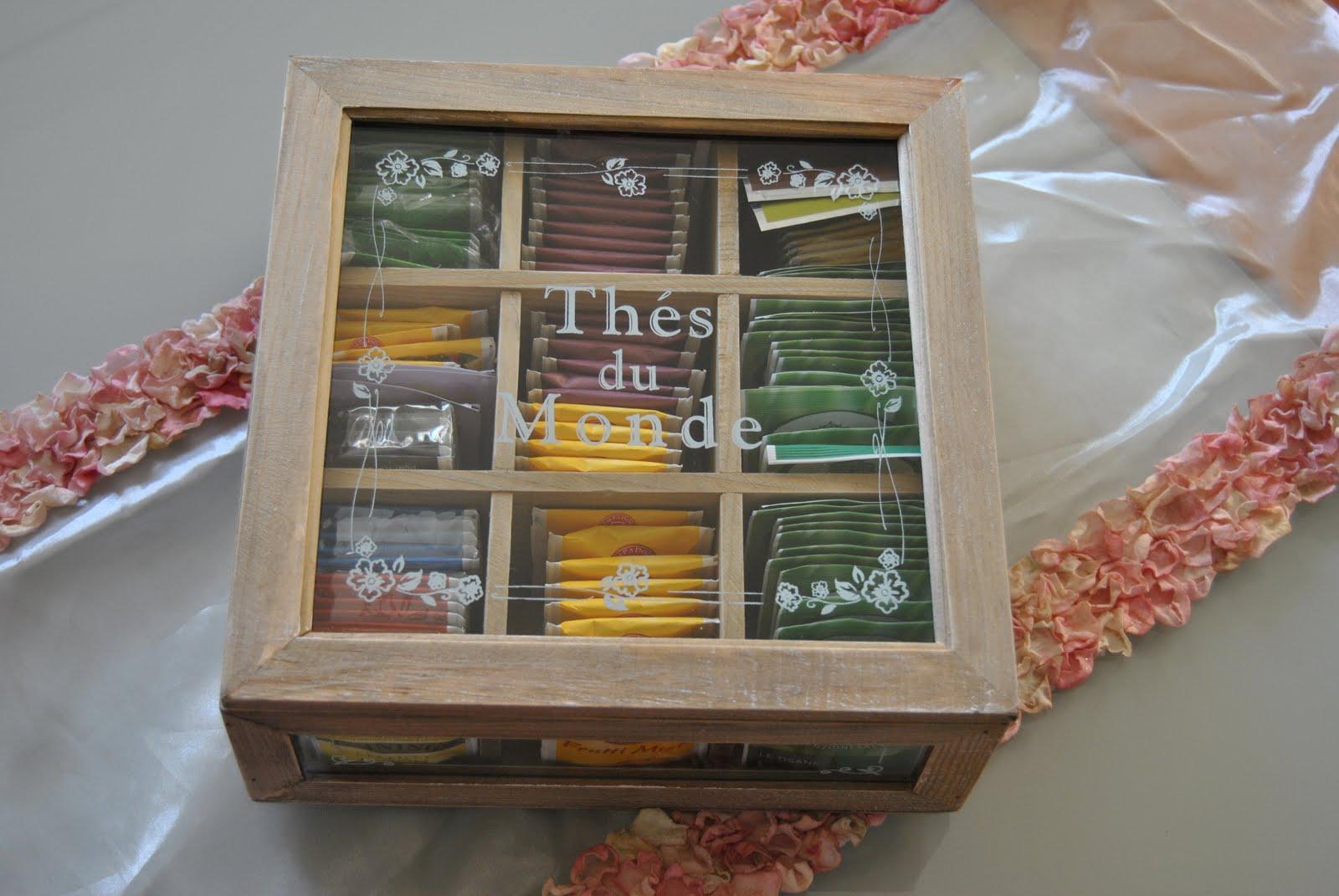 Il blog di lisanna scatola porta th - Scatola porta the ...