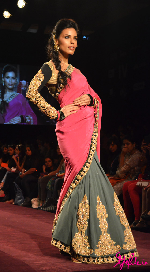 lakme fashion week shyamal bhumika saree