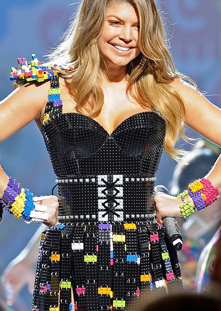 Fergie and L.A. designer Michael Schmidt make Legos hot ~ Salsa ...