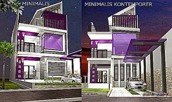 Gambar Desain Rumah Minimalis Modern   Rumah Minimalis Indo