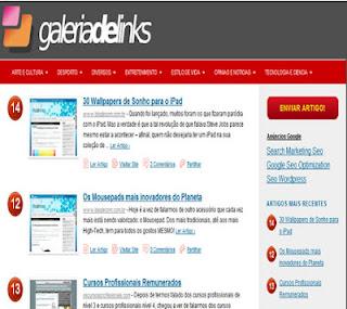galeria de links divulga seus blogs grátis