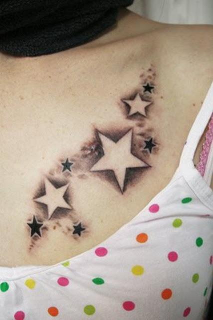 sex star tattoos for girls
