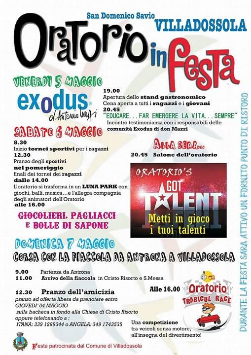 Festa Oratorio San Domenico Savio - Villadossola