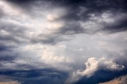 Nachgewitterwolken...
