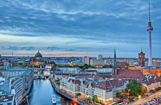 Panorámica de Berlin en Alemania