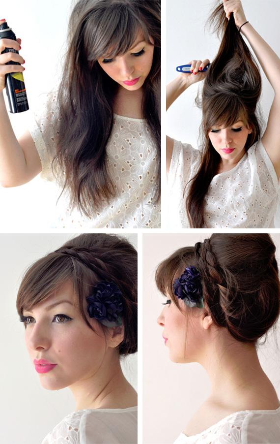Sophie news tutorial de peinado con trenzas 3 - Tutorial de peinados ...