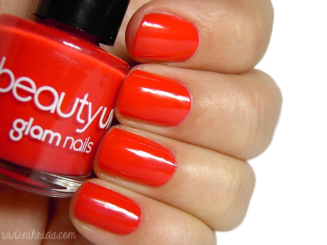 Beauty UK Nail Polish in Coral Surprise