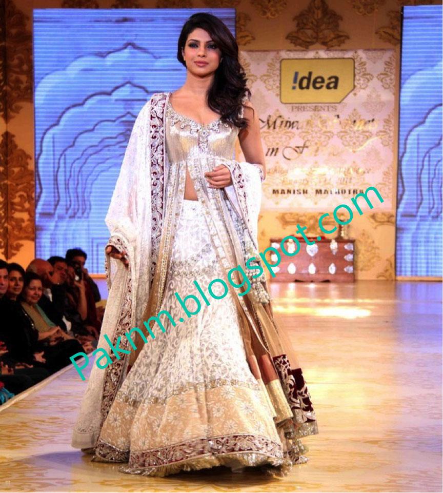priyanka chopra wearing saree - photo #17