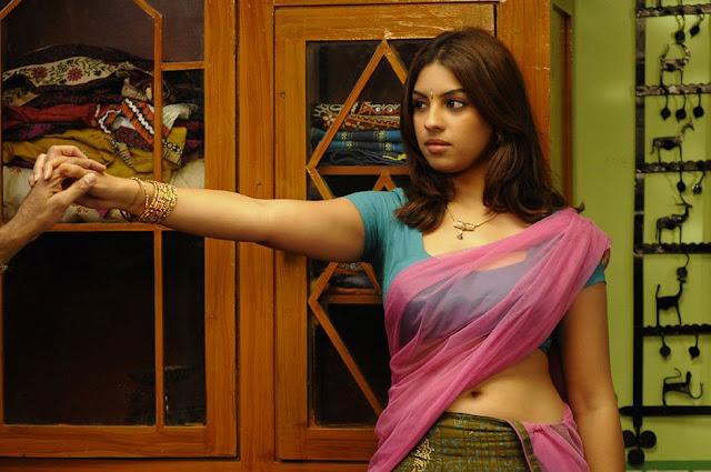 Actress Richa Gangopadhyay hot Saree Photos From Murattu Singam