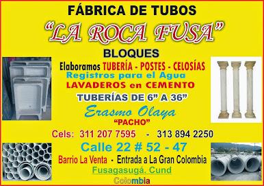 En FUSAGASUGÁ a la ENTRADA de GRAN COLOMBIA