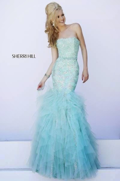 Sherri Hill Evening Dresses for Your Summer Parties