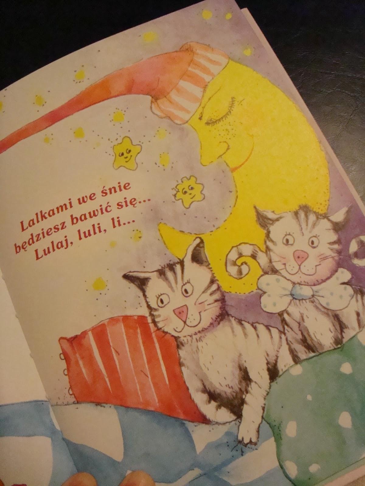 książka Kołysanki, wydawnictwa dreams, teksty kołysanek,