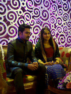 Asif Ali wedding images