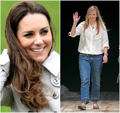 Kate Middleton and Sarah Burton Next Design