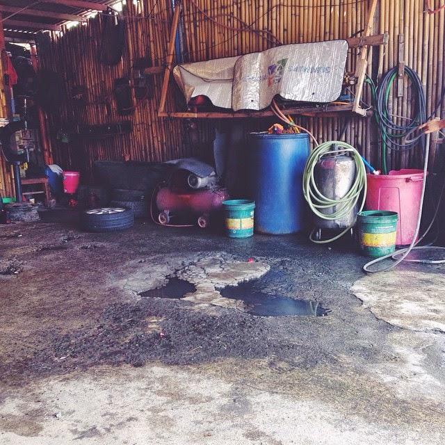 maraisms on instagram tire vulcanizing shop