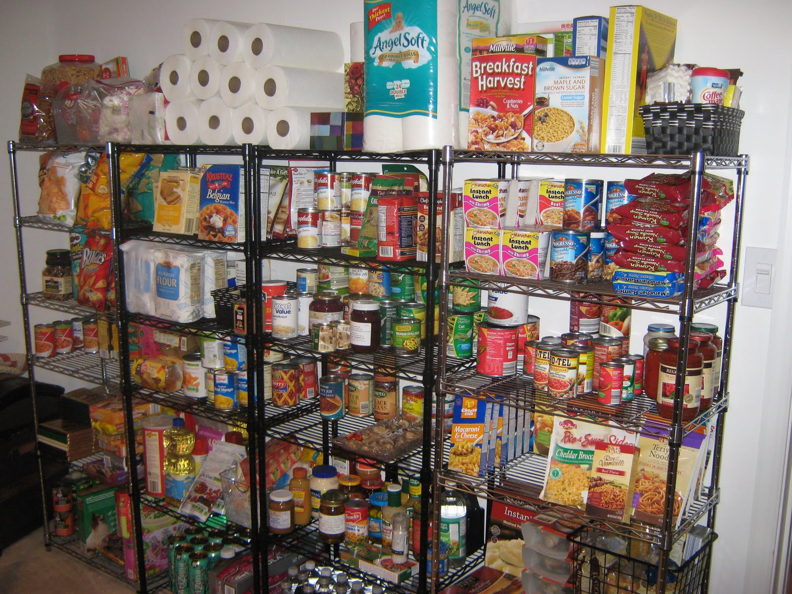 Fake It Frugal The Very Very Well Stocked Pantry