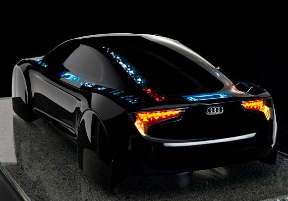 Audi q7 avec technologie oled sur ses phares