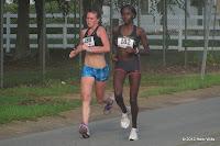 Carly Thomas and Violah Lagat