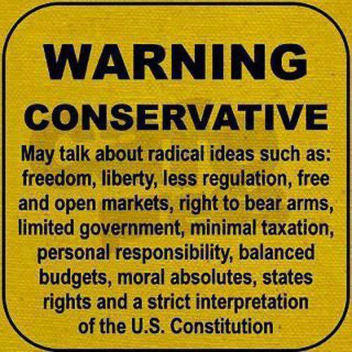 Warning Conservative