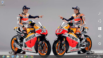 Marc Marquez MotoGp 2013 Windows 7 And 8 Theme