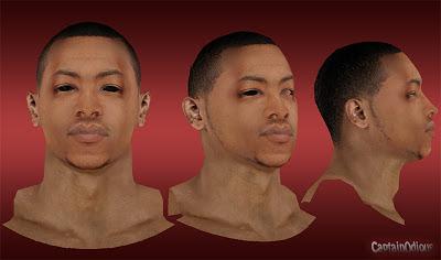 NBA 2K13 Andrew Goudelock Cyberface Mod