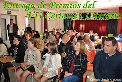 ENTREGA PREMIOS VII CERTAMEN LITERARIO