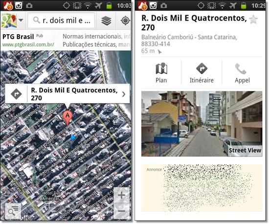 mon adresse physique en qr sur googlemap avec tracking associ u00e9