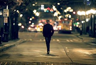 reflexões, companhia, noite, solidão