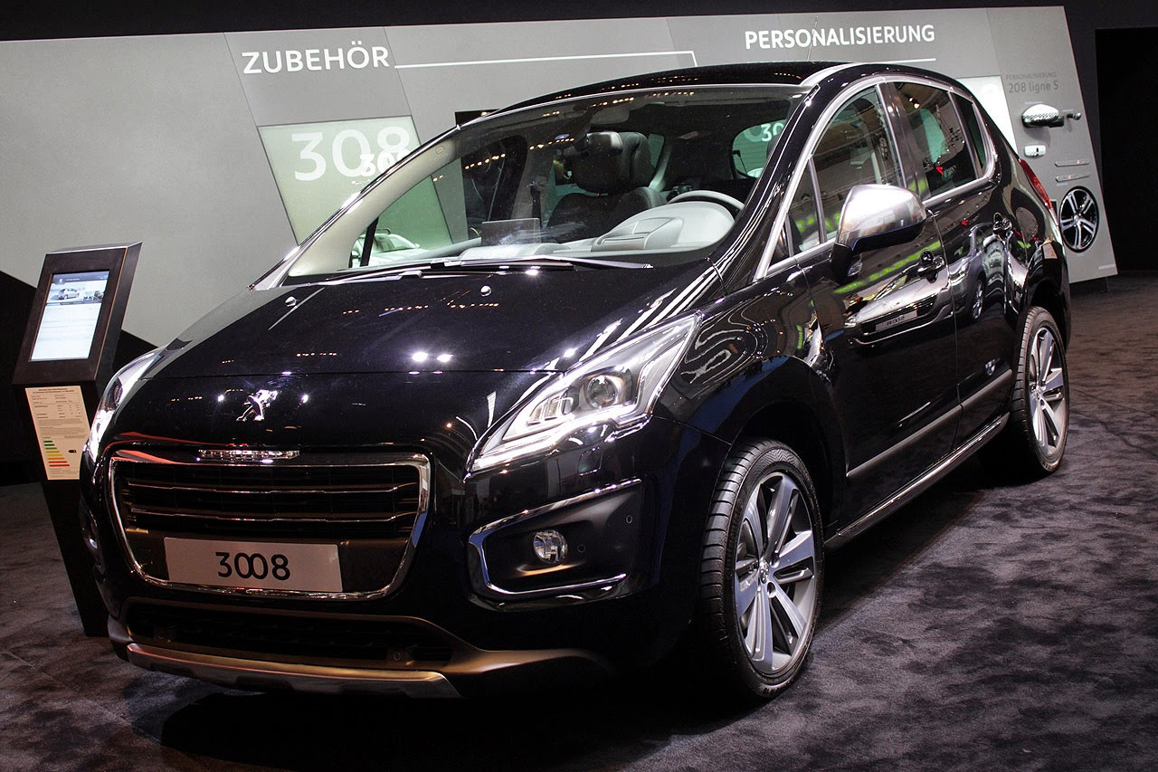 automotiveblogz 2014 peugeot 3008 frankfurt 2013 photos. Black Bedroom Furniture Sets. Home Design Ideas