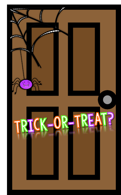 Decorating Ideas > Halloween Blog Hop  Wild About Fifth Grade ~ 160801_Halloween Door Tricks