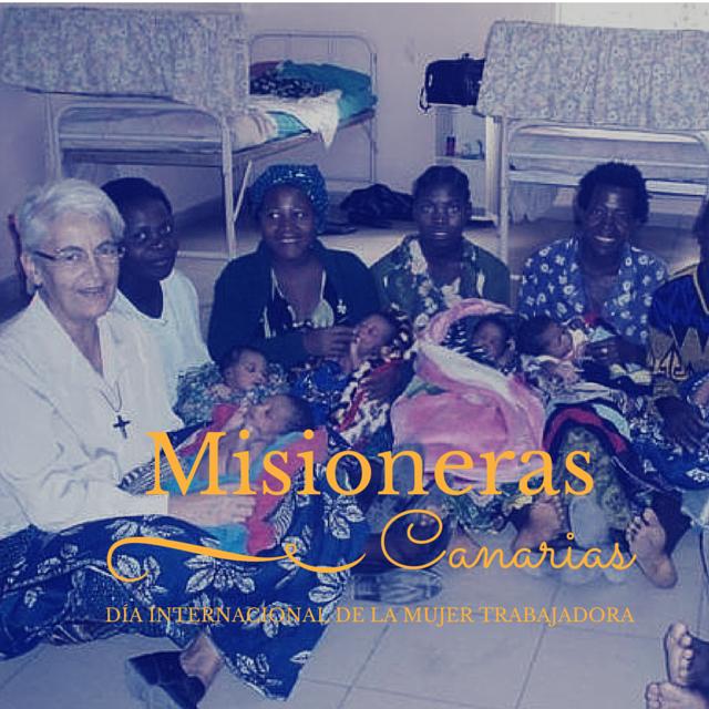 Mujer Trabajadora Misioneras Canarias