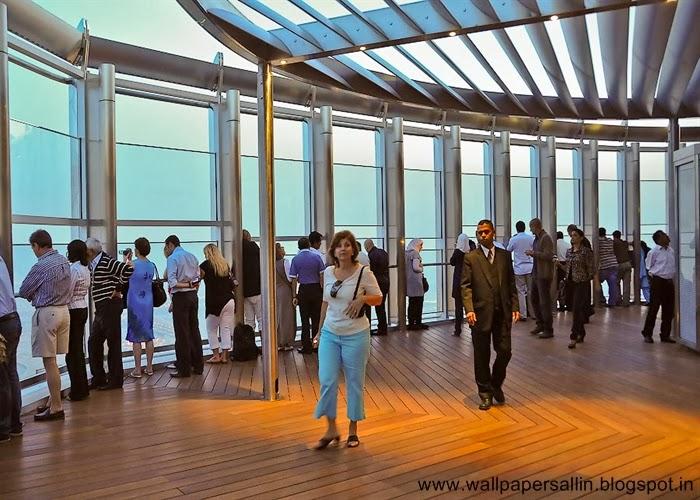 inside burj khalifa dubai