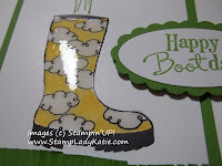 Crystal Effects on the rubber boot from Bootiful