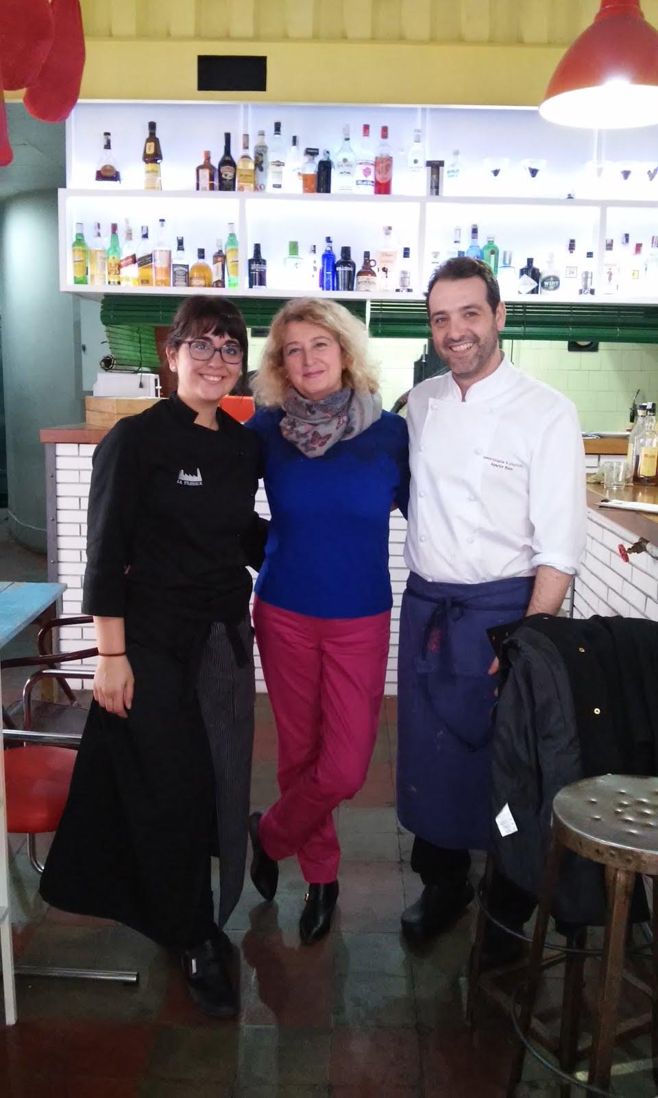 Con el Chef Mario Rios
