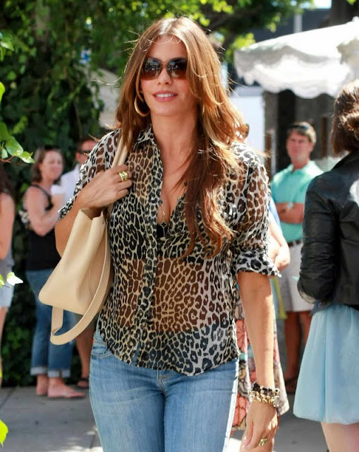 Sofia Vergara in jeans