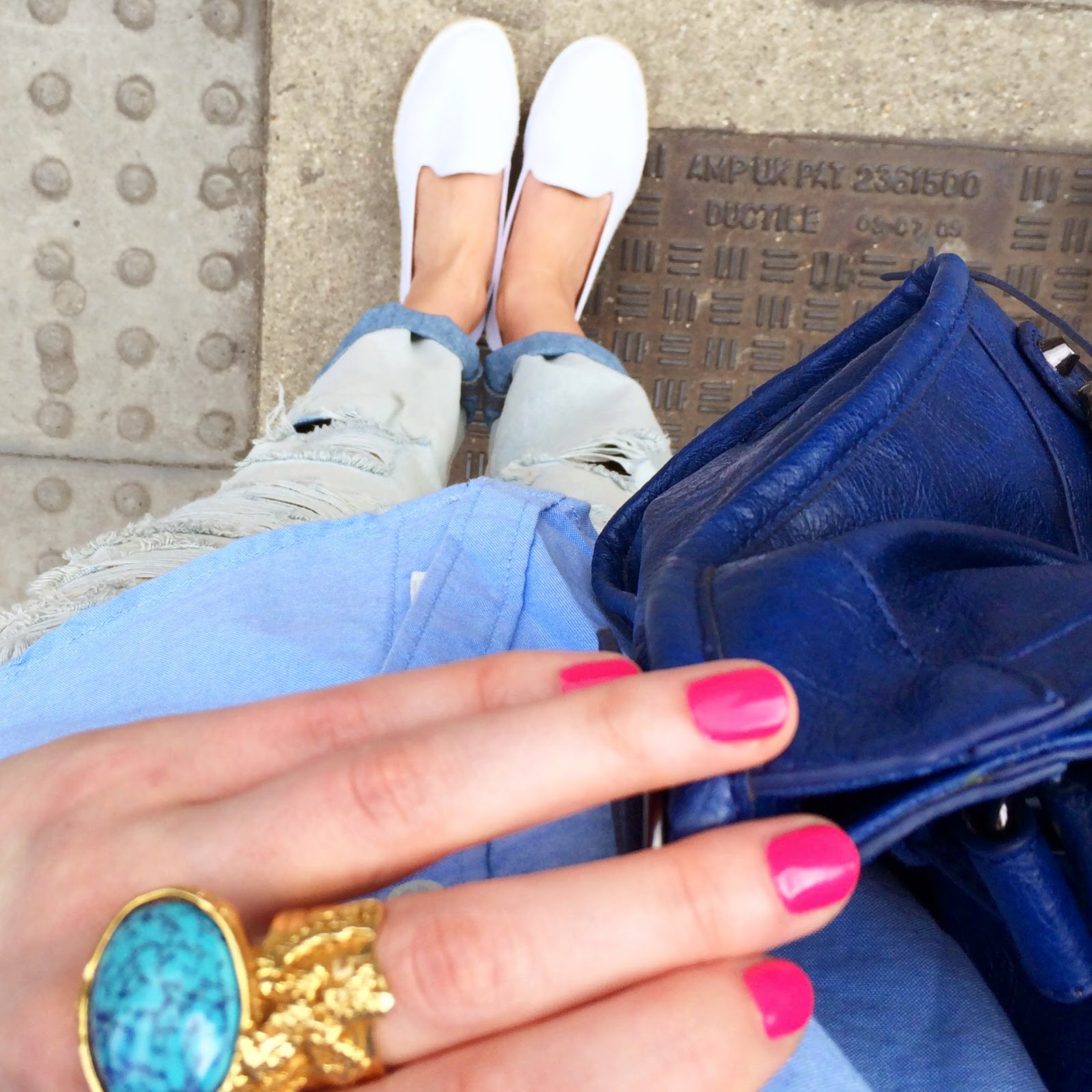 from where i stand, fwist, dior plaza, dior plaza review, ysl ring, ysl arty ring, asos espadrilles, asos boyfriend jeans