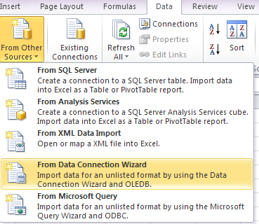 how to import excel file into sap