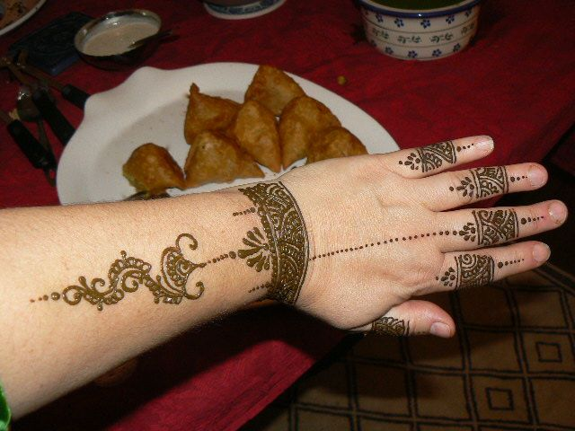 Mehndi For Party : An indian fusion vegetarian mehndi party menu by cuisinetc
