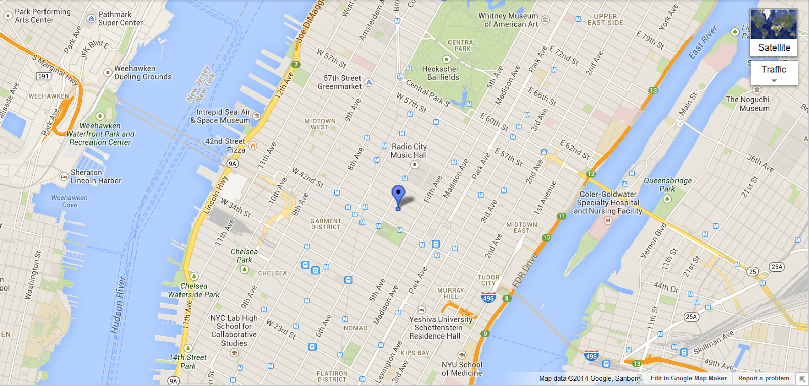 Map Of Nyc Google Maps Pictures To Pin On Pinterest ThePinsta - New york city map google
