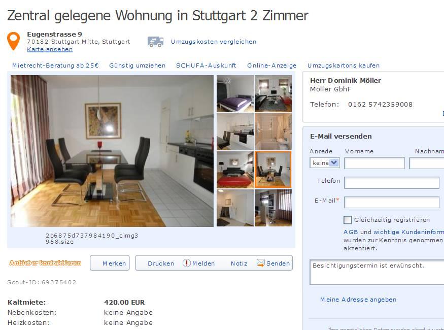Permalink to Wohnung Stuttgart Mitte
