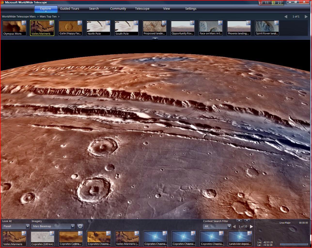 Microsoft WorldWide Telescope 3.0.60.1 Layerscape Beta