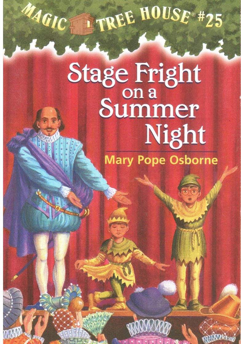 Magic Tree House-25 Stage Fright on a Summer Night ... Jack And Annie Books